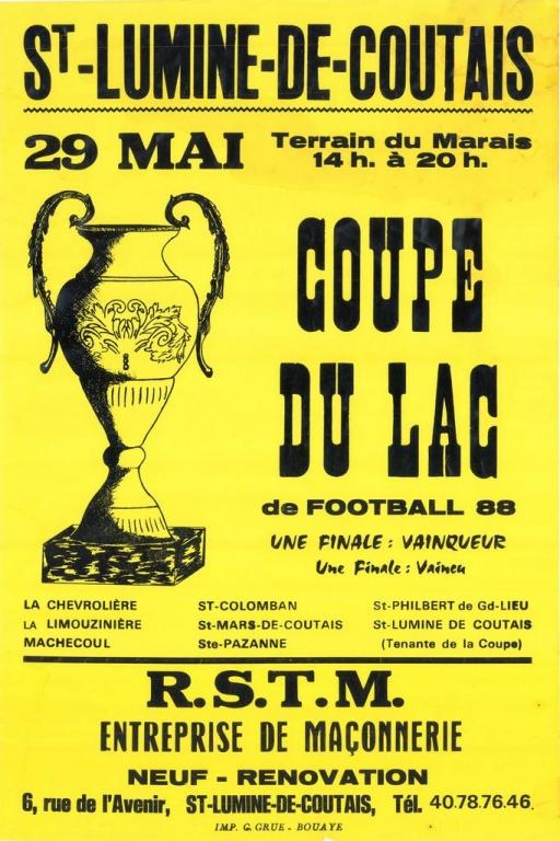 ESL-1988-Affiche Coupe du Lac-40ème
