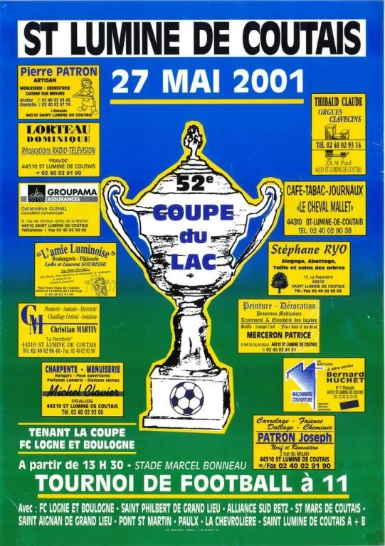 ESL-2001-Affiche Coupe du Lac-52ème