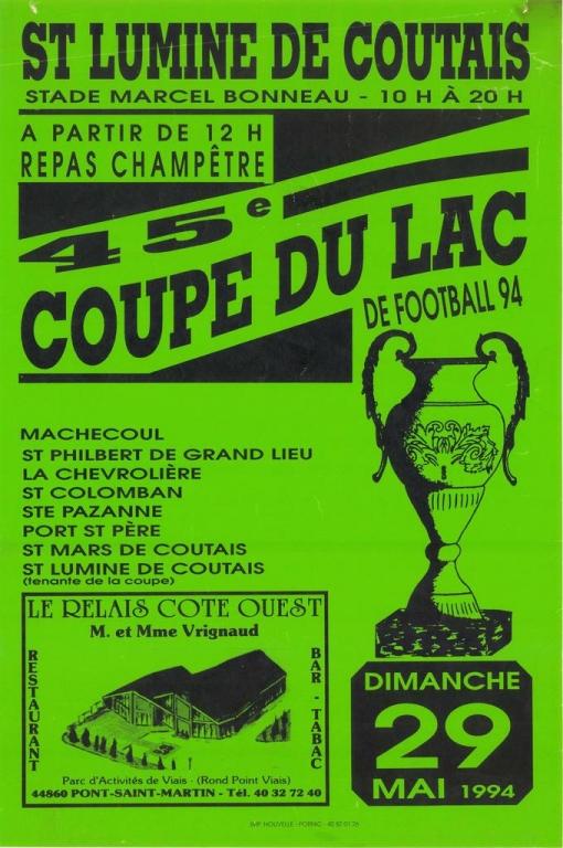 ESL-1994-Affiche Coupe du Lac-45ème